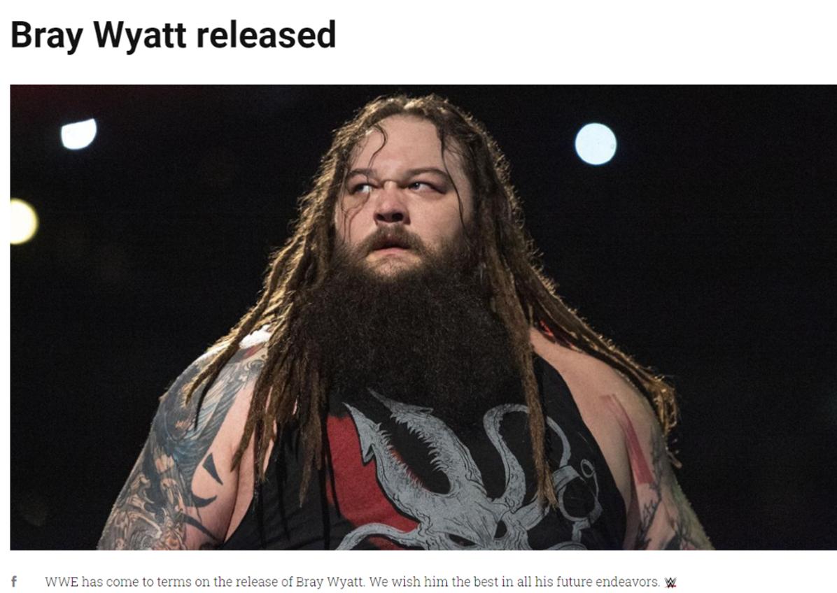 Thank You Wyatt: A look back at the WWE Career of Bray Wyatt
